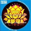 2013 venta caliente etiqueta amarilla logo