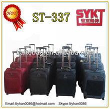 Canton fair Baigou factory beautiful promotional new designed trolley unique luggage sets