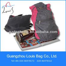 Foldable fold up picnic backpack bag