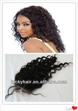 Without chemical process 100% human hair silk base closure peruvian hair lace closures