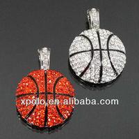 Hot Selling Design Basketball Magnetic Pendant
