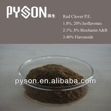 Good quality Red Clover P.E. 2.5%,8%,20%,40% hot produccts!!!!!!!!!
