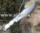 Damascus Knife, 18.5 cm Blade, Type C