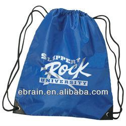 Promotional Nylon Sports Pack,nylon cheap custom bag with drawstring