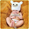 2013 New crochet baby girl beanie organic cotton baby hats photography props