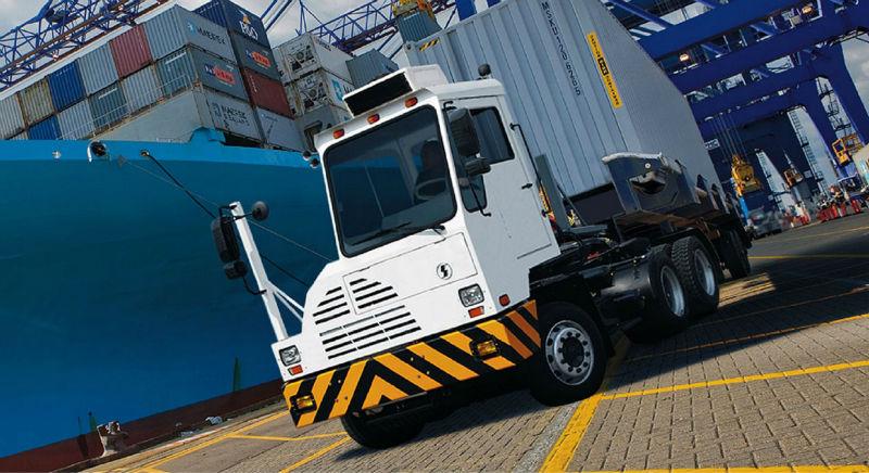 Shaanxi shacman 6x4 tracteur terminal, camion tracteur utilisé sur le