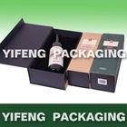 high end PU leather wine presentation box