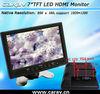 "7"" LCD Touchscreen HDMI,,AV,VESA VGA Monitor"