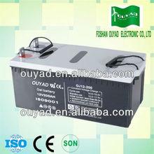 UPS battery deep cycle gel battery 12v 200ah S.