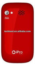 Cheap price low end quadband ipro TV phone i3 Dual Sim Dual Standby ,Back Camera with Flash Light