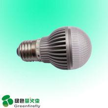 3w light bulb paint E14/E27 ce&rohs shenzhen AC85-265V