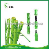 HKDA 2013 bamboo innovation kongfu panda style bamboo electronic cigarette