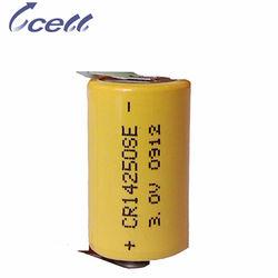 1/2AA 900mAh CR14250SE 3 volt battery
