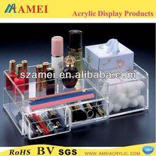 Bespoke acrylic makeup organizers