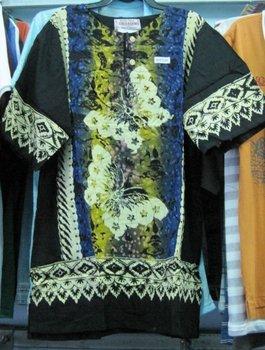 Batik Shirts and Tops