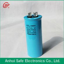 AC motor Capacitor Super Capacitance CBB65 for Air conditioner Use