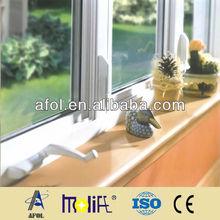 AFOL WINDOW cheap house windows upvc windows hand type window