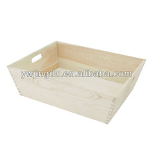 white wooden tray for food design
