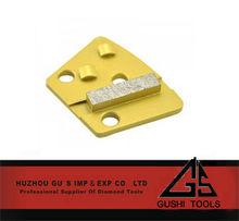 Double 1/4 PCD Insert Shoe - Diamond Grinding Bricks Suppliers