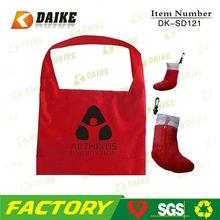 Custom Polyester Christmas Department Store Shopping Bag DK-SD121