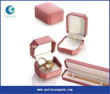 2013 popular custom velvet packing box