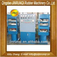 Cheap Automatical Duplex curing plate vulcanizing heat press moulding machine 450mm*450mm