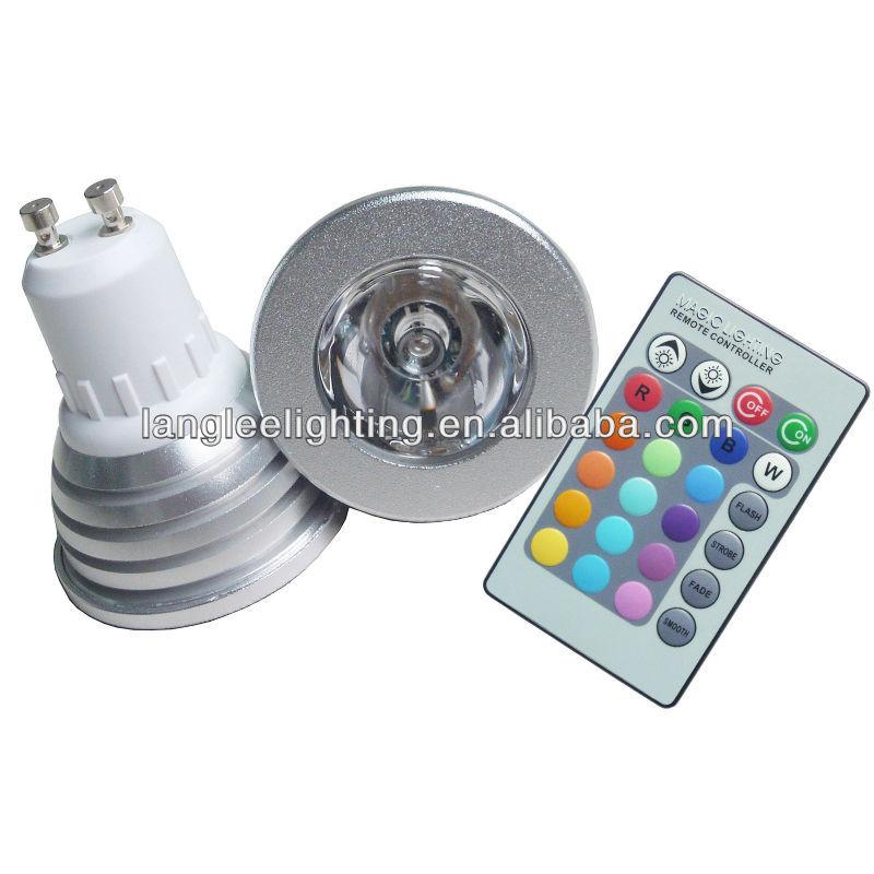 3w Magic Lighting Rgb Led Light Bulb And Remo E27 16 Color Led Rgb Magic Ligh...