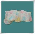 couches jetables pour bébés de couleur