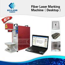 20W Fiber Laser Engraving Machines For Jewelry Barcode Gold Hallmarking