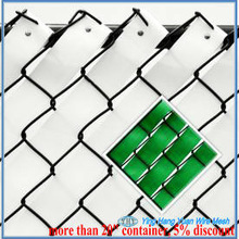 white/black/green chain-link privacy slat (BV certification factory)