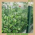pvc rivestito curvo cortile recinzioni metalliche per le case