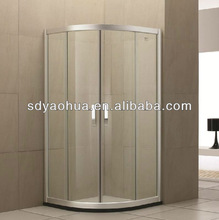 simple glass bathroom doors 8mm thickness