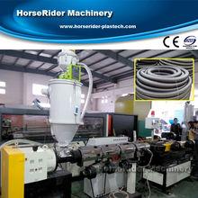 New Single Wall PVC Corrugated Pipe Machine / PE corrugated pipe making machine