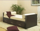 Sofa bed with drawer Hardwood Made