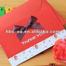 Elegant Thanksgiving Greeting Cards with Ribbon