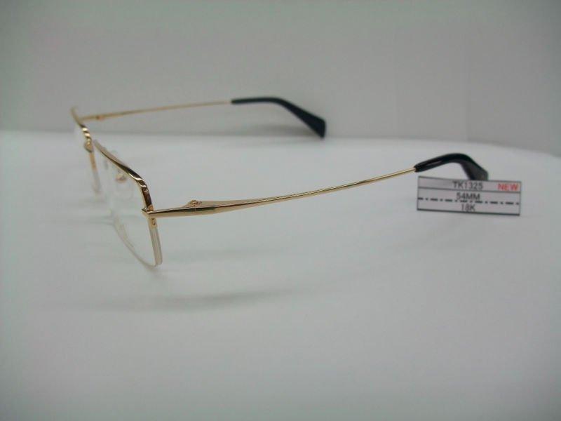 OPTICAL FRAME(18K SOLID GOLD FRAME)eyeglasses accessories ...