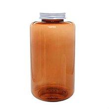 Medicine Bottle Aluminium Cap 1000ml light Brown