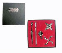 Naruto New Design hot sale Anime Weapon metal kirsite weapon Mini Knife cosplay model