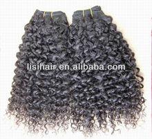 Hot! High Quality 14 Inch Eurasian Virgin Kinky Curl Hair Extension