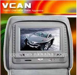 HAV-7003 7'' Headrest car monitor DVD+USB player