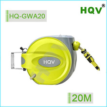high quality low speed retractable air hose reel 20m