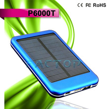 solar car battery charger 6000mah