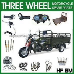 2013 new model three wheel motorbike parts, OEM quality