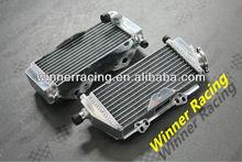 alloy aluminum radiator for Kawasaki KX250/KX 250 2-stroke 2005-2007 2006
