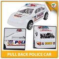 hips baratos puxa brinquedos antigos modelos do carro do carro da polícia para crianças com en71