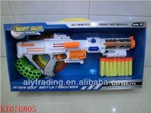 2013 newest hot sale soft gun toys soft air bullet gun shooting game eva soft gun