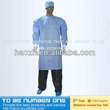 Cirúrgica vestido de funcionamento, cirúrgica vestido e de cortina, sms cirúrgica descartável vestido
