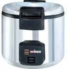Winco ERCW-66 33 Cup Electric commercial Rice Cooker and Warmer