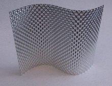 Aluminium foil - adhesive, microperforated, embossed