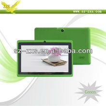 Zhixingsheng HOT!!! tablet Android 7 inch Allwinner A13 cpu 1.2Ghz q88 MID Q88